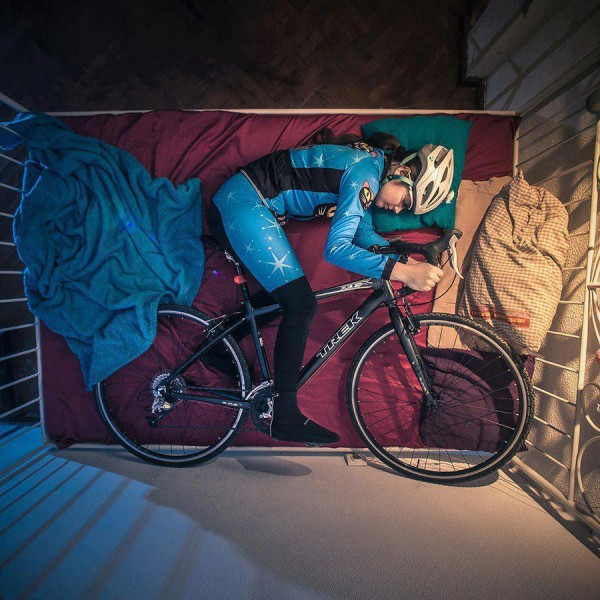 сон велосипедистки