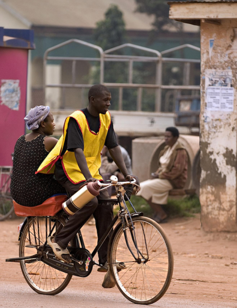 Перевозка на велосипеде