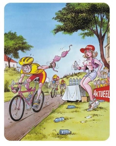 Тур дэ Франс. Комикс