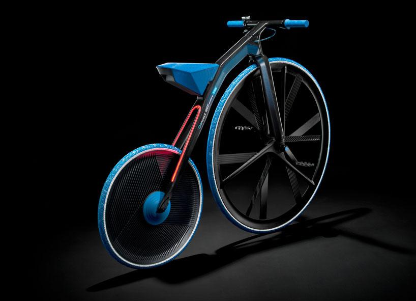 ретро велосипед BASF