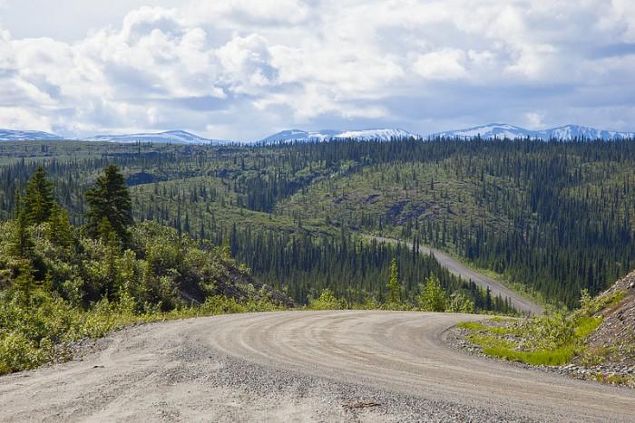 Шоссе Денали , Аляска