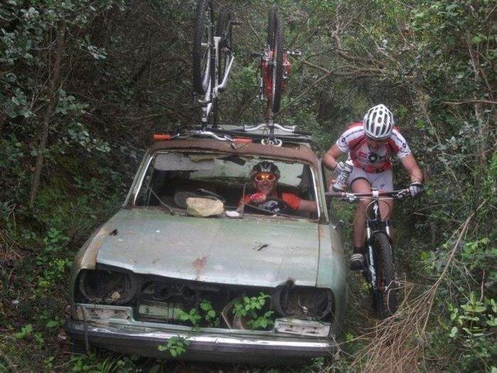 Суровые дороги, суровый велосипедный спорт