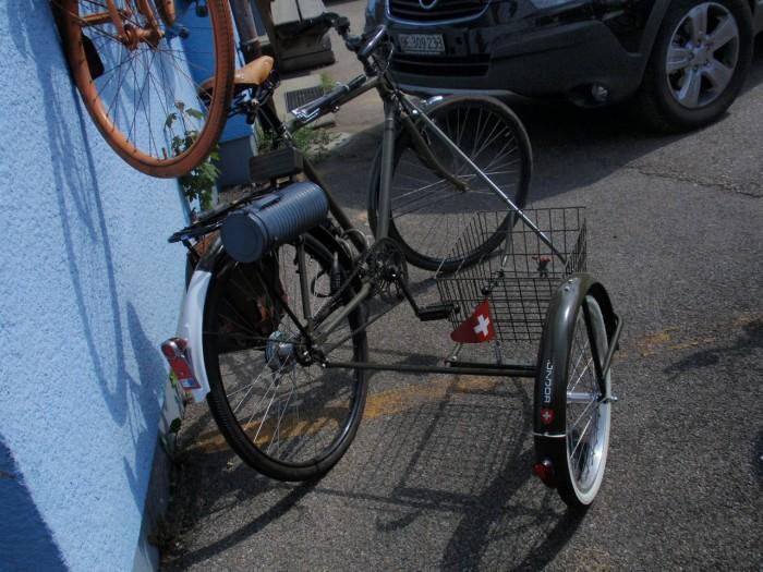 Швейцарский военный велосипед