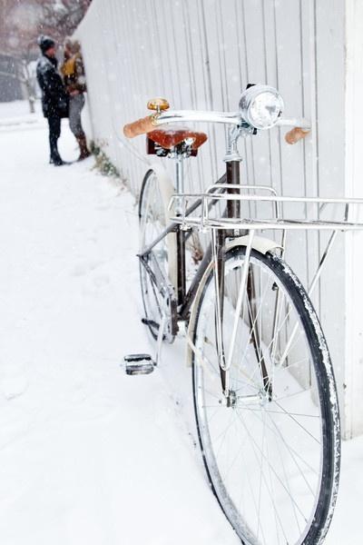Велосипед. Зима. Любовь