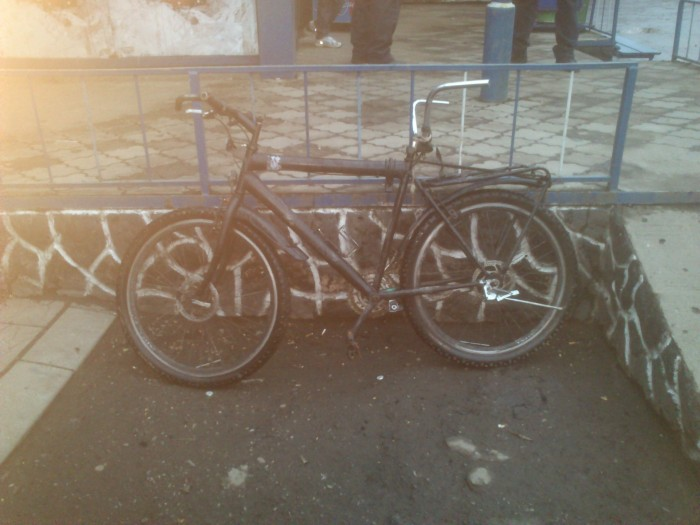 Суровые Ужгородские велосипедисты