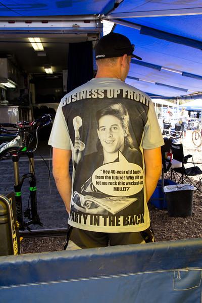 Brian Lopes Shirt Shimano cowbells