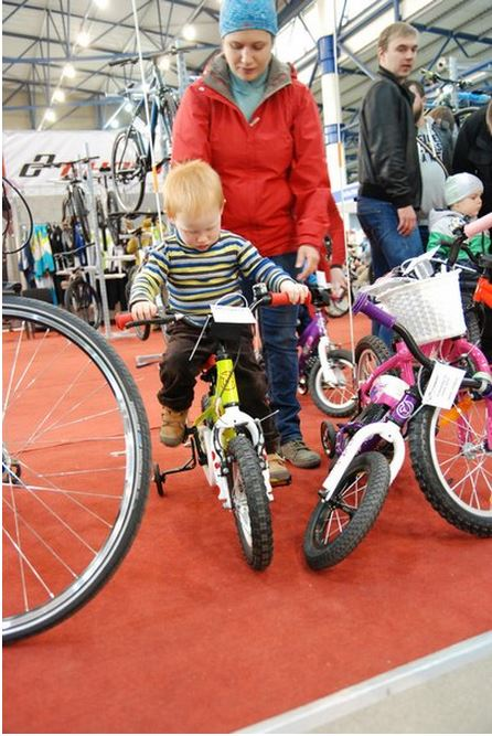 Побывали на веловыставке БайкЭкспо-2014