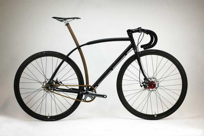 Дорожный велосипед от Саффорн (Шафран)