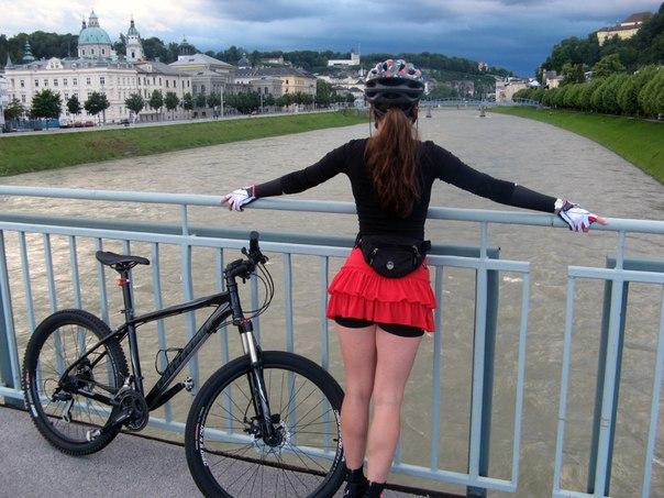 велосипедные попки