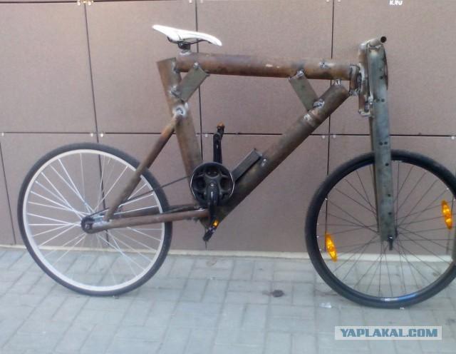 велосипед весом 120 килограмм