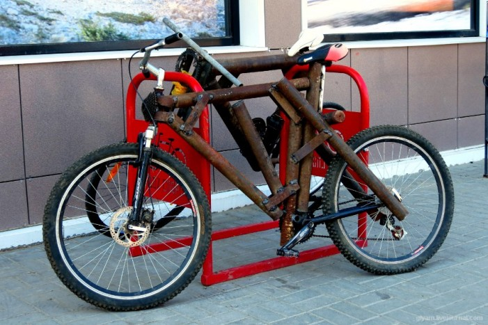 сколково - велосипед