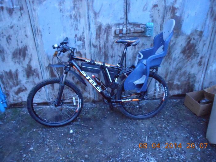 870-й вечером с велокреслом