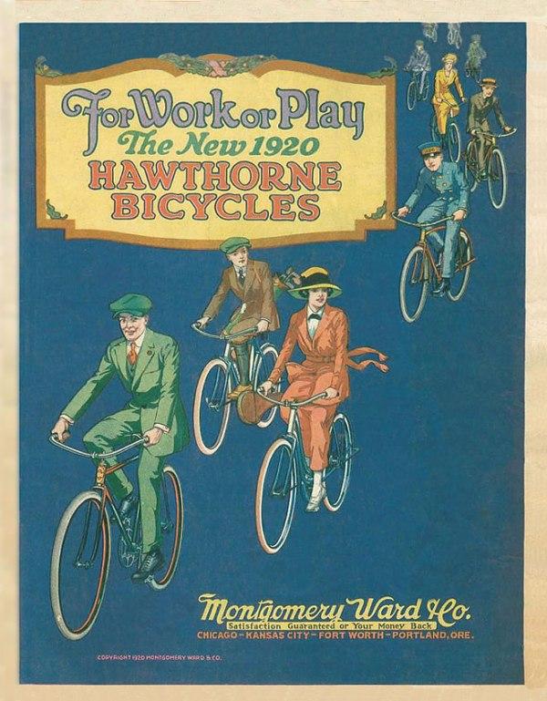 Велосипедная реклама. Ракурс