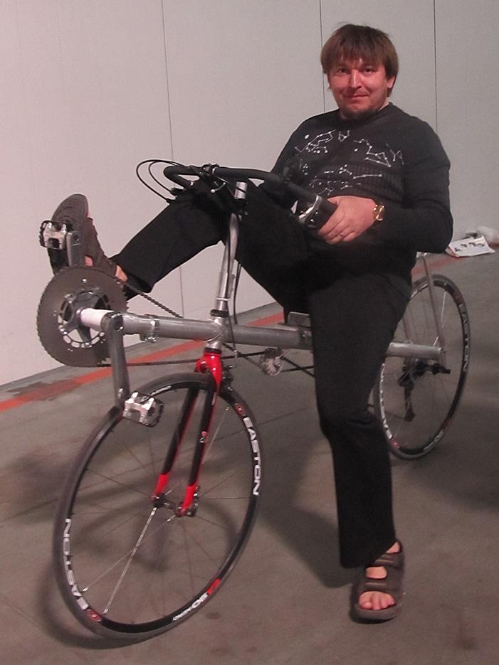 лежачий велосипед от Дениса