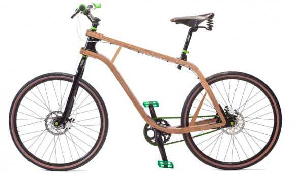 BONOBO PLYWOOD BICYCLE — велосипед из фанеры