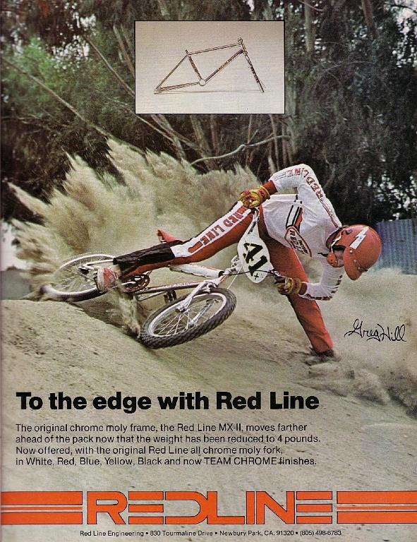 Велосипедная реклама Redline