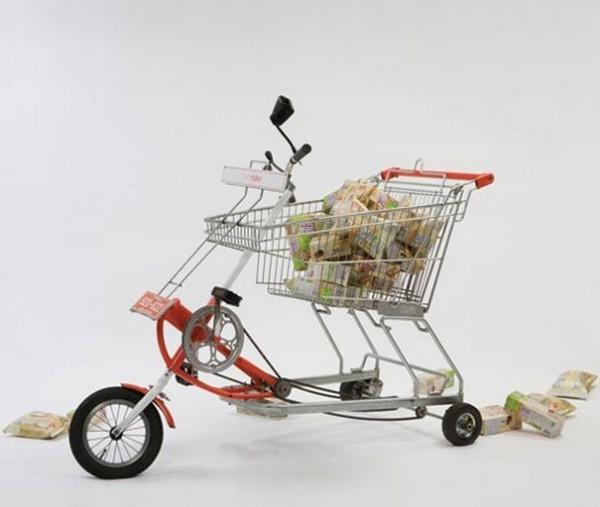 Велосипед для супермаркета