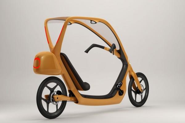 Швед Торкель Домерс также создал велосипед для более сложных погодных условий – с крышей