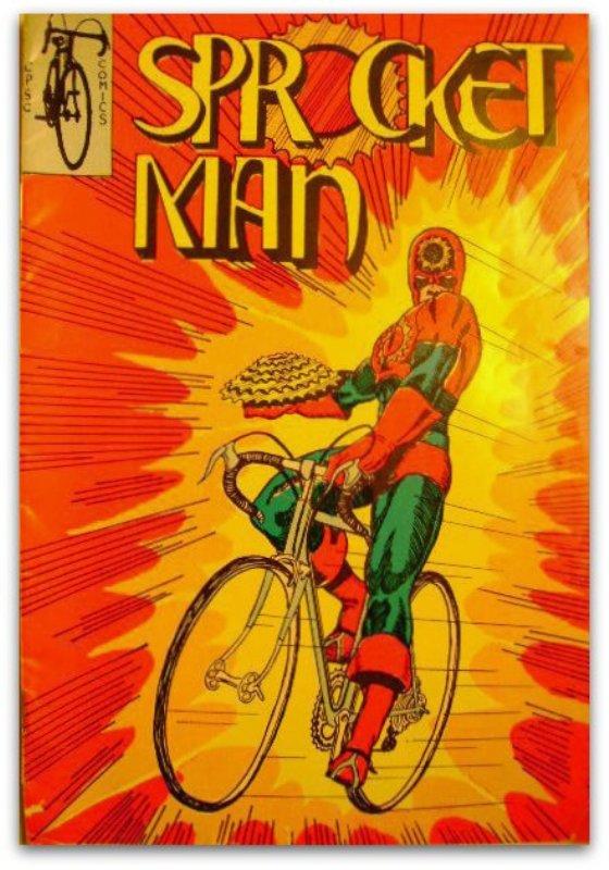 Велосипедная реклама Человек-Звездочка