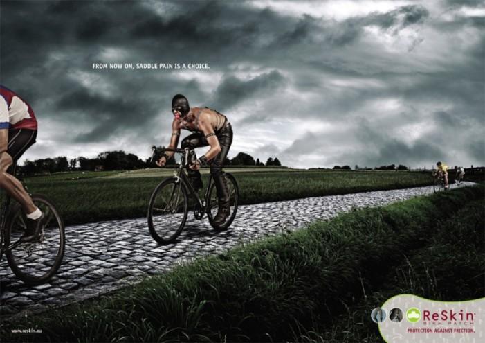 боль от велоседла