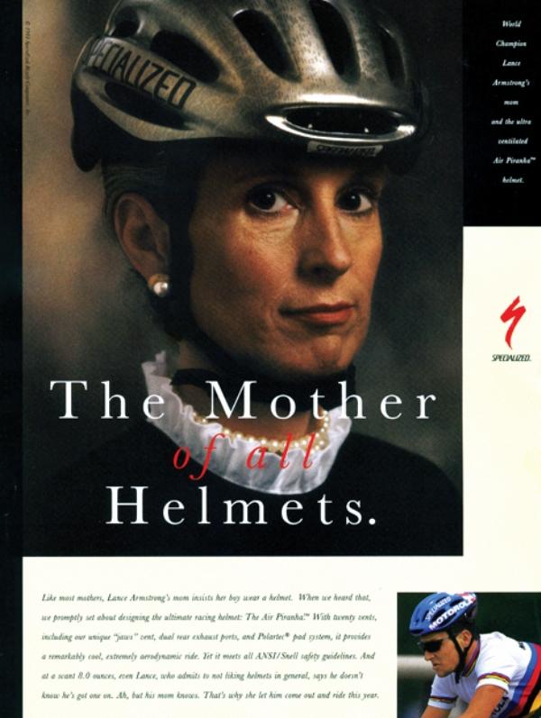 Реклама шлемов Specialized