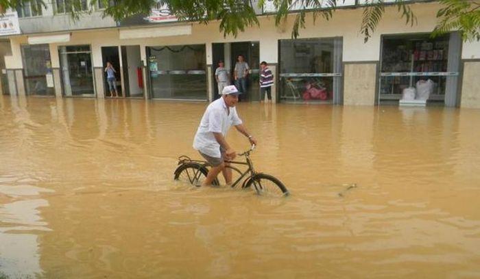 настоящий велосипедный экстрим