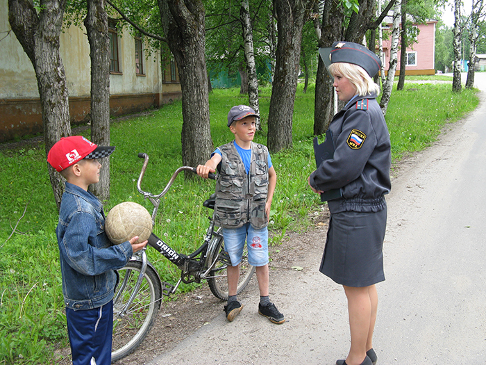 велосипедисты нарушители