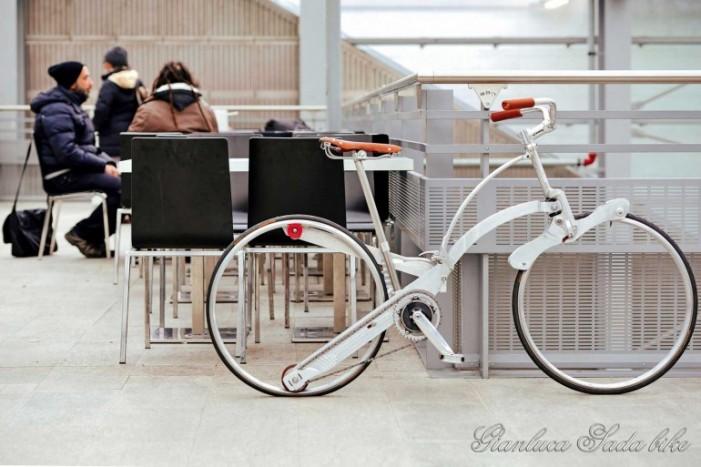 Велосипед зонтик