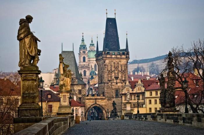 Велотуризм. Прага