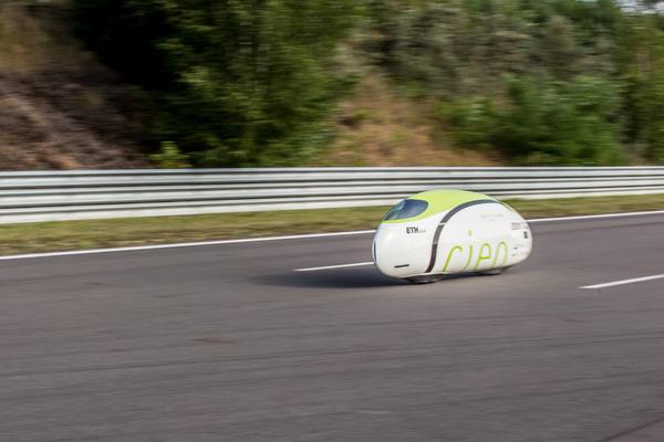 Project Cieo 100 км/час