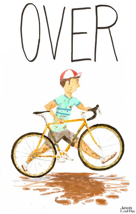 учим английский на велосипеде