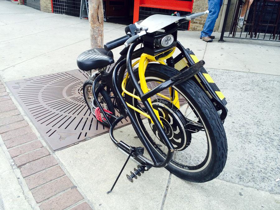 самодельный экологичный вело-porsche