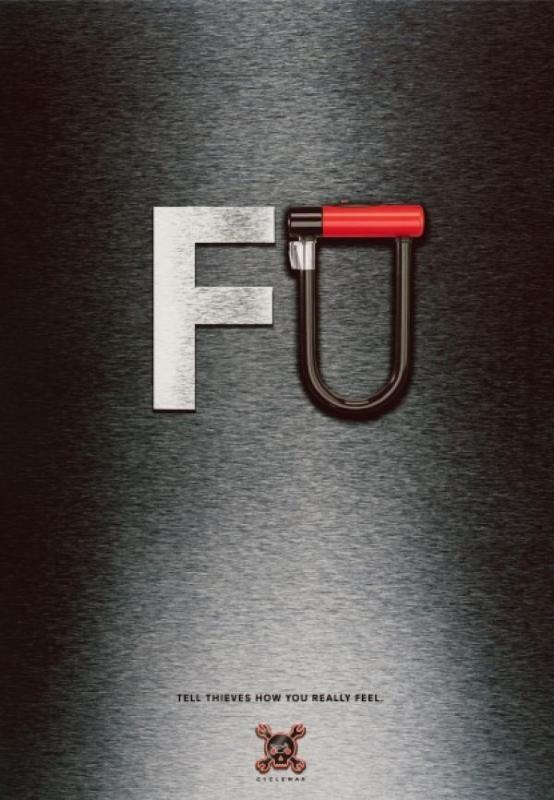 реклама велозамков
