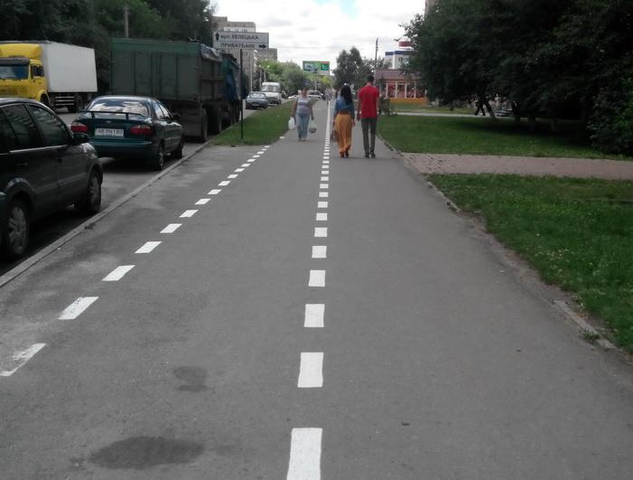 велодорожки Винница