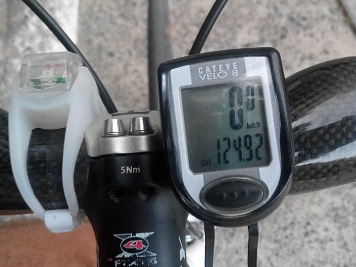 125 километров наката