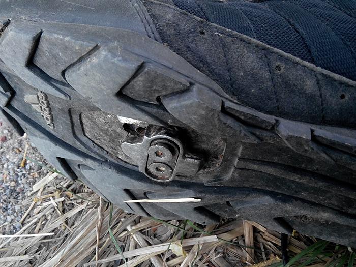 Велотушли Шимано раскрутился болт на шипе