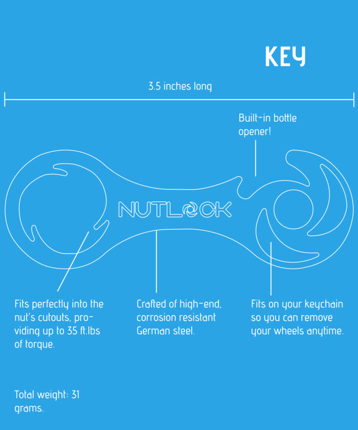 nutlock-key