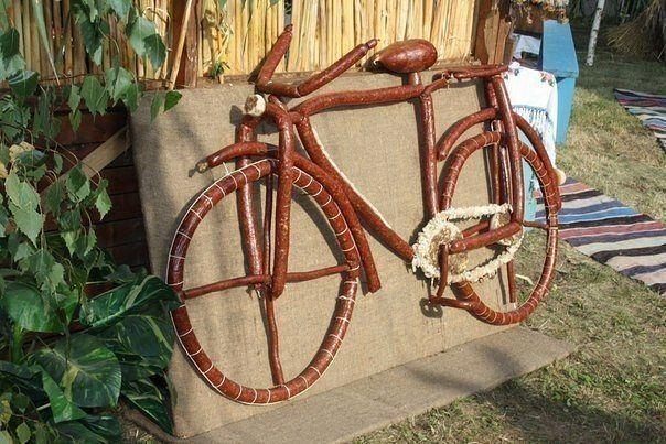Правильный велосипед выглядит так