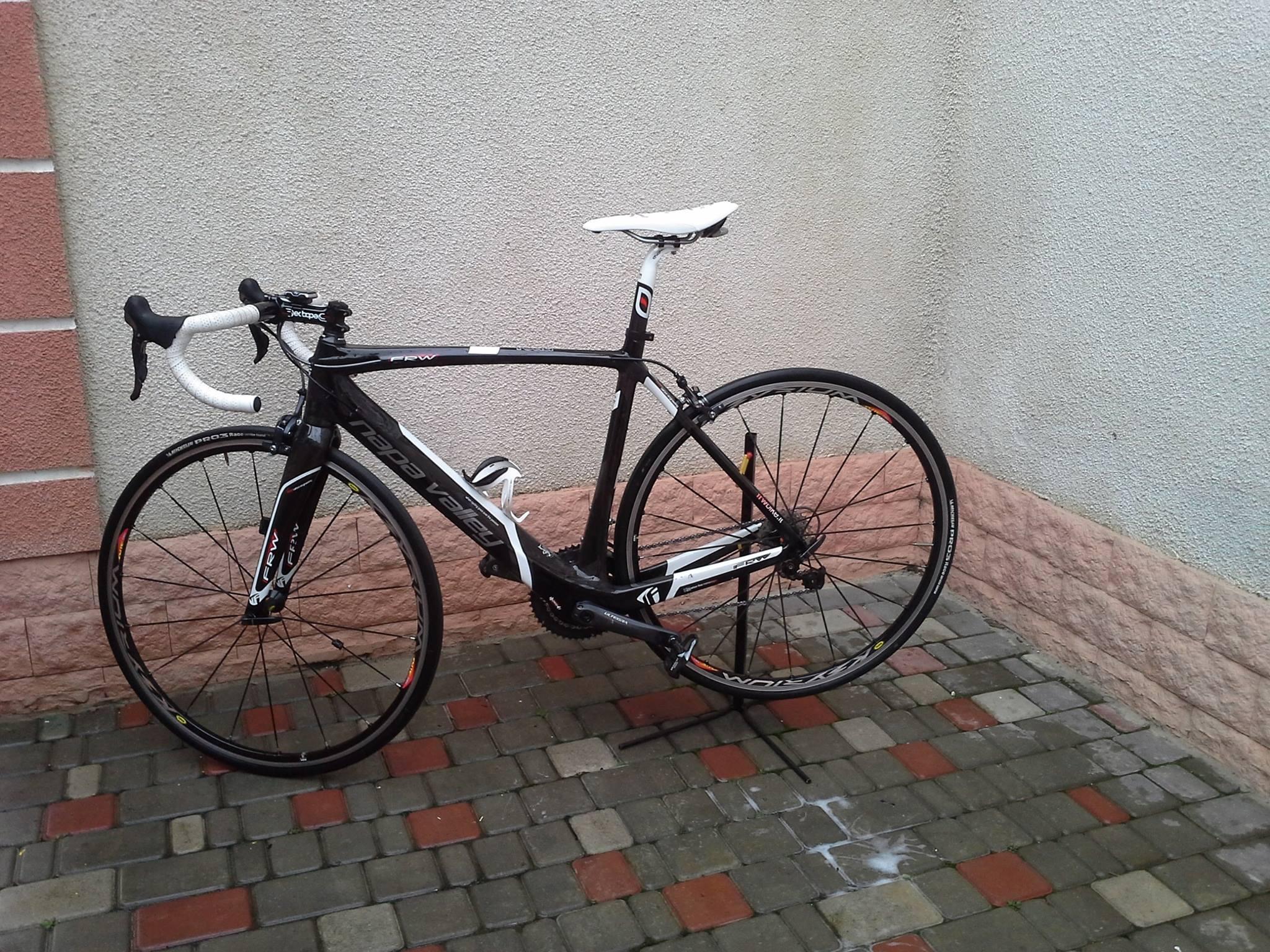 Украли итальянский велосипед FRW. В Одессе
