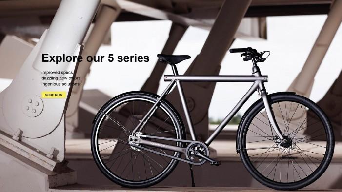 електровелосипед vanmoof