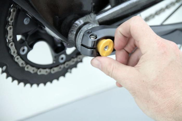 CrankPump — невидимый велосипедный насос