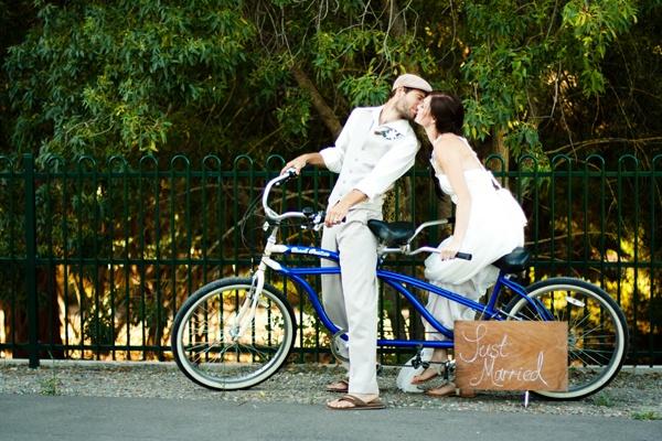 велосипедный поцелуй