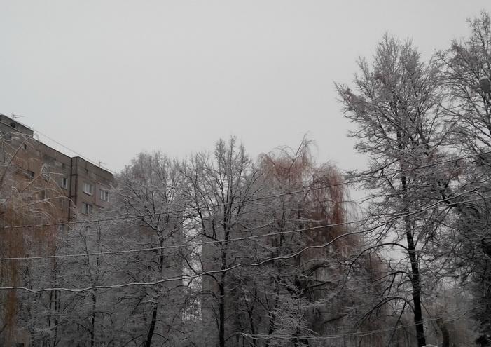 А у нас зима! winter