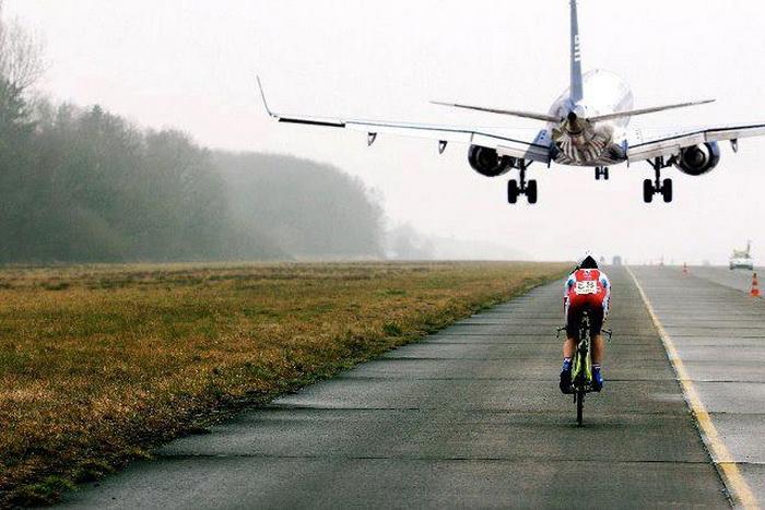 летаем на велосипеде