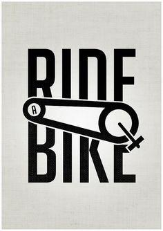 катайся на велосипеде
