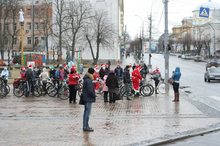 Велопробег Дедов Морозов