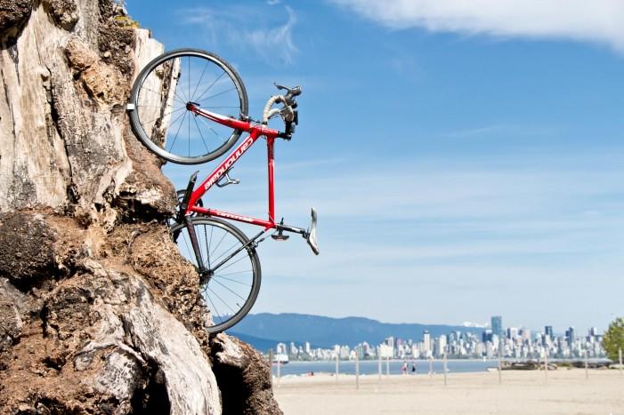 Самая маленькая велостойка на планете
