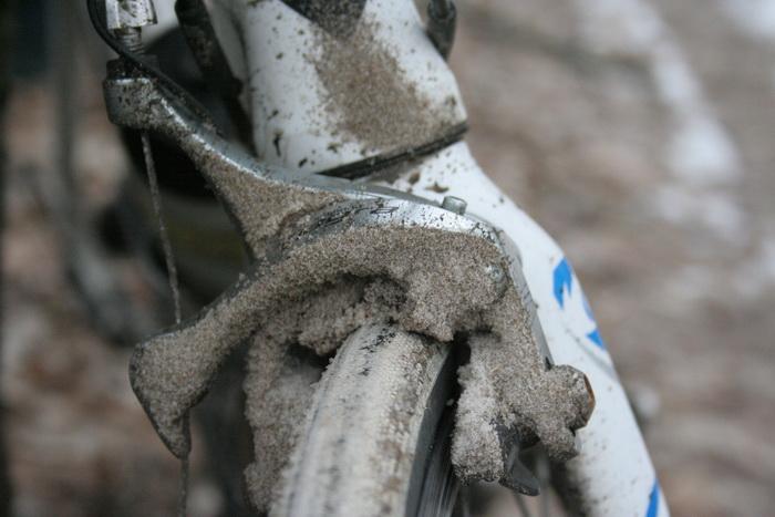 шоссейный велосипед, говна