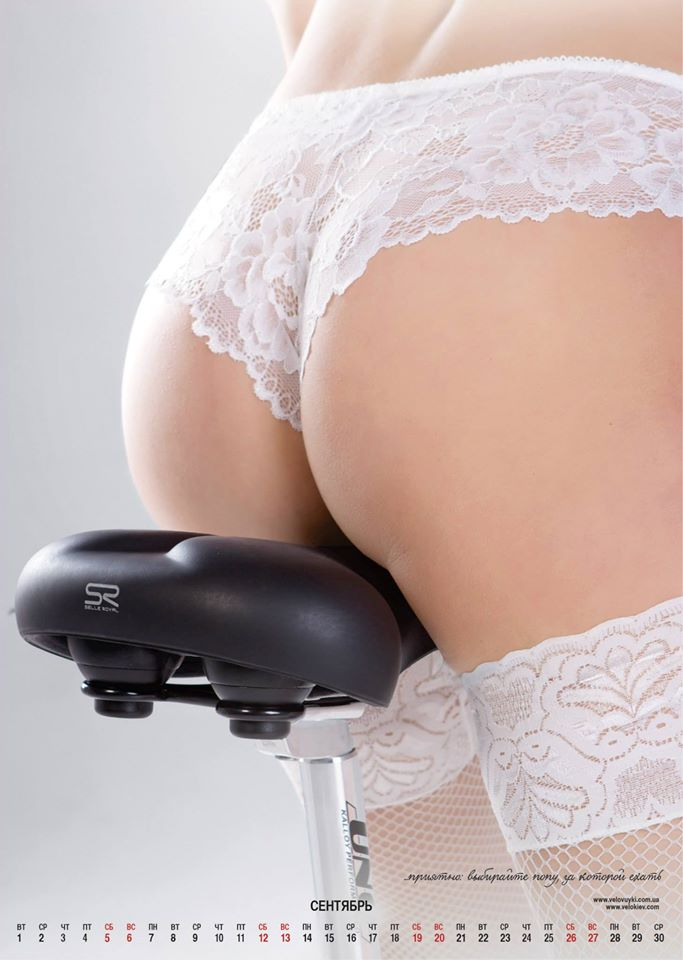 велосипедный календарь 2015 эротика