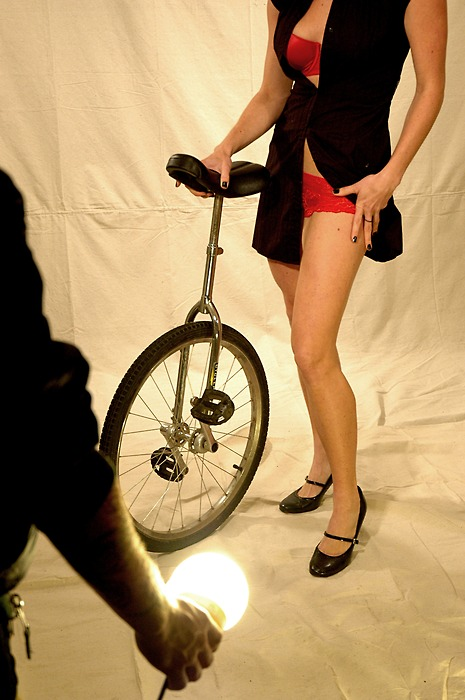 Правильный велосипед — уницикл